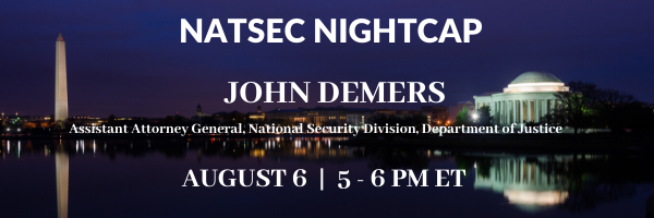 NatSec Nightcap - August 6, 2020
