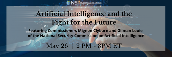 Technology Innovation and American National Security: Artificial Intelligence and the Fight for the Future